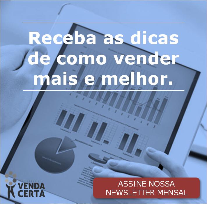 Newsletter Metodologia Venda Certa